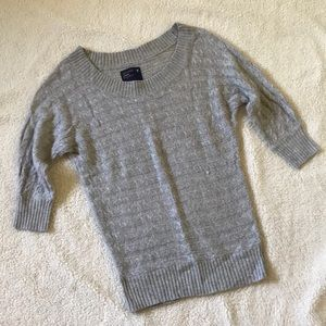 American Eagle Gray Sweater, Size S